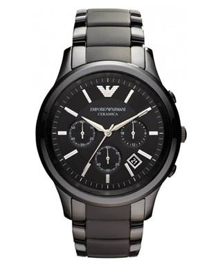 Emporio Armani Men's Ceramic Chronograph Watch