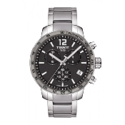 Tissot Mens' Quickster Chronograph Watch T095.417.11.067.00