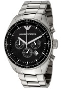 Emporio Armani Mens' Chronograph Watch AR0585