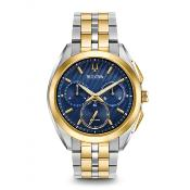 Bulova Men's CURV Chronograph Watch 98A159