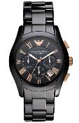 Emporio Armani Mens' Ceramic Chronograph Watch AR1410